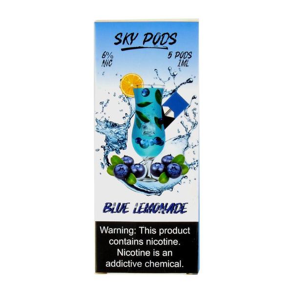 Sky Pods - Sky Pods Blue Lemonade 5 Pods - Drops of Vapor