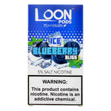 Loon Pods - Loon Pods Ice Blueberry Bliss 5 Pods - Drops of Vapor