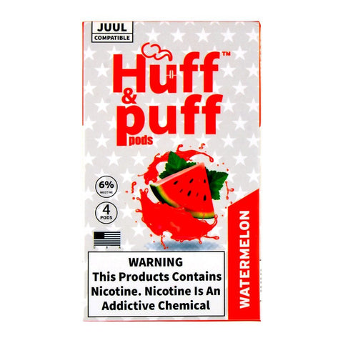 Huff & Puff Watermelon 4 Pods