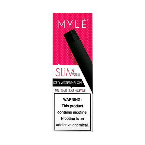MYLE - Myle Slim Disposable Device Iced Watermelon - Drops of Vapor