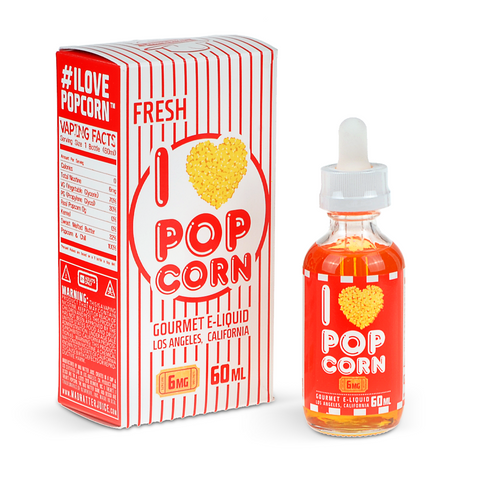 Mad Hatter Juice I Love Popcorn eLiquid - Drops of Vapor - 1