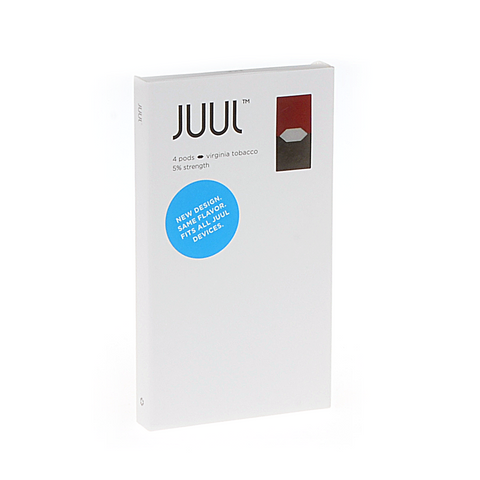 JUUL tabaac Virginia Tobacco JUULpods - Drops of Vapor - 1