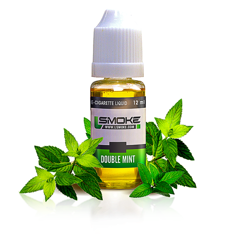 LSmoke Double Mint E Liquid - Drops of Vapor