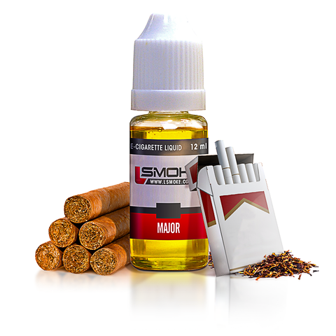 LSmoke - Major E Liquid - Drops of Vapor