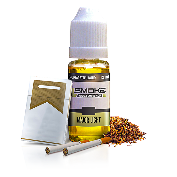 LSmoke - Major Light E Liquid - Drops of Vapor