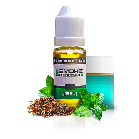 LSmoke New Mint E Liquid - Drops of Vapor