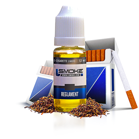 LSmoke - Reglament E Liquid - Drops of Vapor