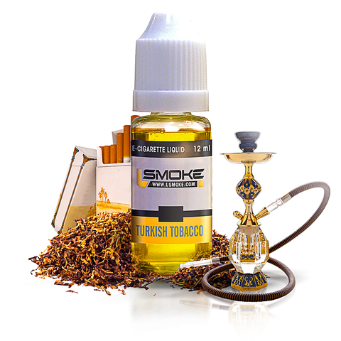 LSmoke - Turkish Tobacco E Liquid - Drops of Vapor