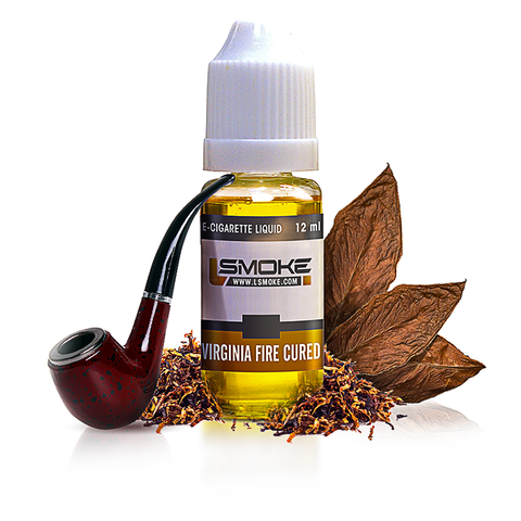 LSmoke - Virginia Fire Cured E Liquid - Drops of Vapor