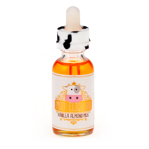 MOO eLiquids - Vanilla Almond Milk eLiquid - Drops of Vapor