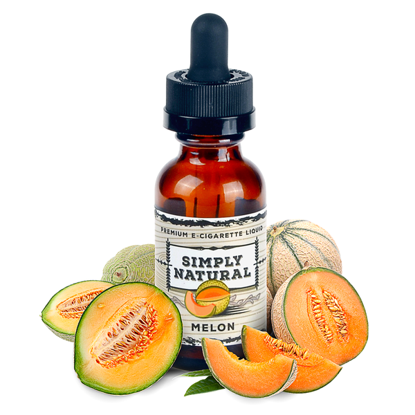 Simply Natural - Premium E-Liquid Melon - Drops of Vapor