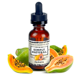 Simply Natural - Premium E-Liquid Papaya - Drops of Vapor