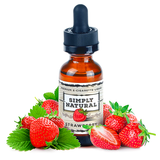 Simply Natural - Premium E-Liquid Strawberry - Drops of Vapor