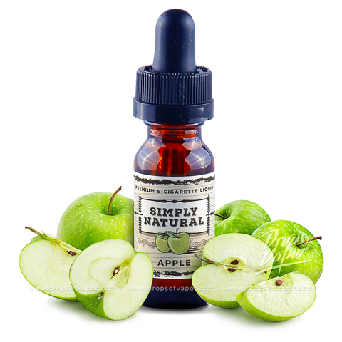 Simply Natural - Premium E-Liquid Apple - Drops of Vapor