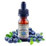 Simply Natural Premium E-Liquid Blueberry - Drops of Vapor - 1