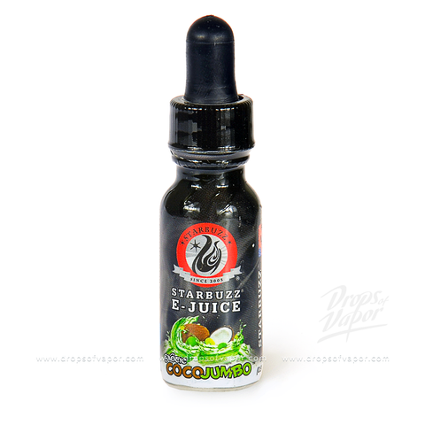 Starbuzz - COCO JUMBO E-Juice - Drops of Vapor