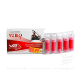 v2 - V2 Red 1.8% Nicotine 5 E-Cig Flavor Cartridge - Drops of Vapor
