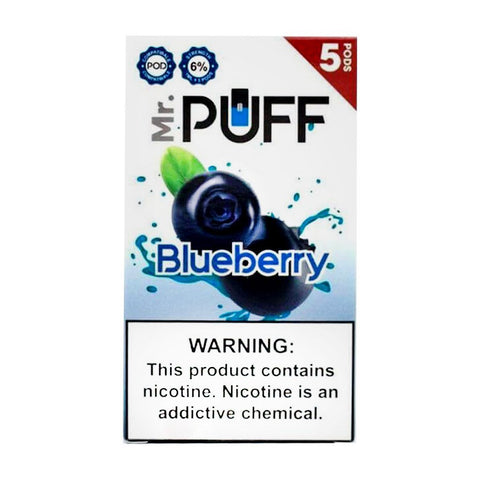 Mr Puff Blueberry 5 Pods