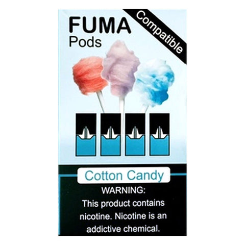 Fuma - Fuma Cotton Candy 4 Pods - Drops of Vapor
