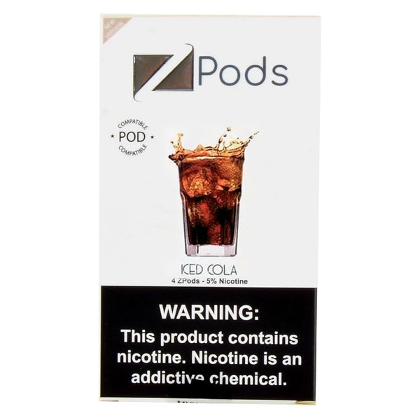 Ziip Iced Cola 4 ZPods