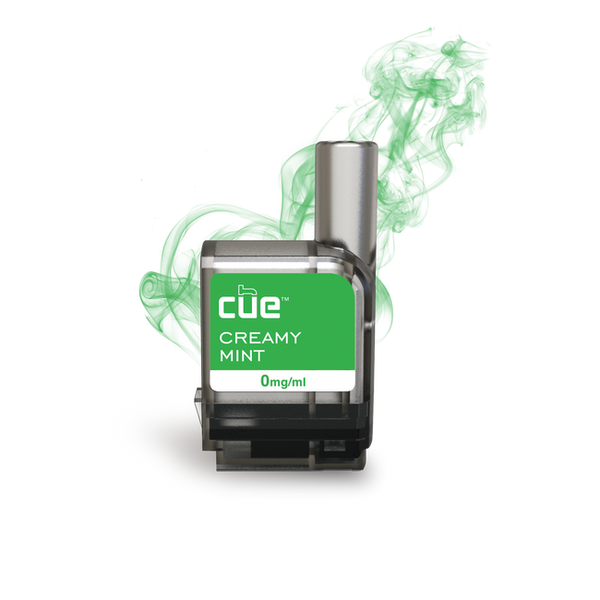 Cue - Cue Creamy Mint Cartridge Refills - Drops of Vapor