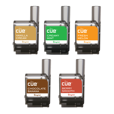 Cue - Cue 5 Flavor Discovery Pack Cartridge Refills - Drops of Vapor
