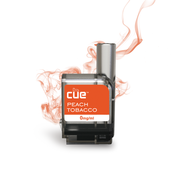 Cue - Cue Peach Tobacco Cartridge Refills - Drops of Vapor