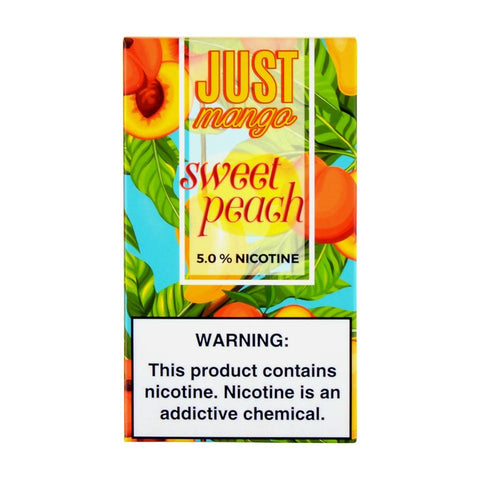 Just Mango - Just Mango Sweet Peach 4 Pods - Drops of Vapor