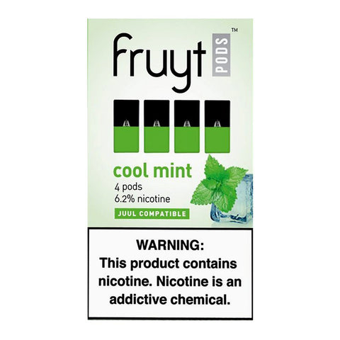 Fruyt Pods - Fruyt Pods Cool Mint Pack of 4 - Drops of Vapor