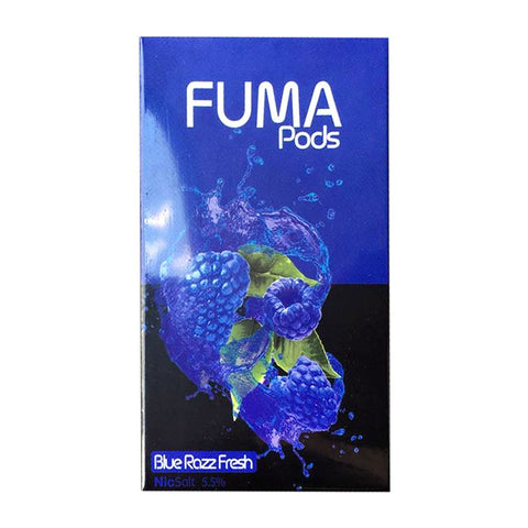 Fuma - Fuma Blue Razz Fresh 4 Pods - Drops of Vapor