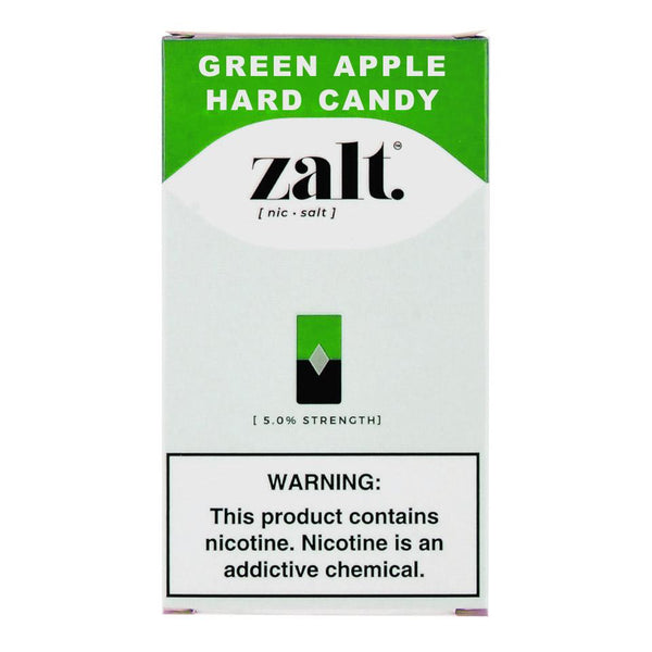 Zalt Green Apple Hard Candy 4 Pods