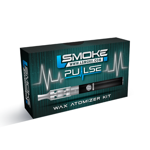 LSmoke - LSmoke Pulse Wax Vaporizer Starter Kit - Drops of Vapor