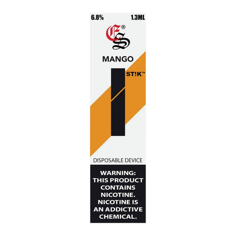 EonSmoke - Eonsmoke Stik Disposable Pod Device Mango - Drops of Vapor