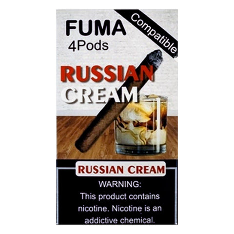 Fuma - Fuma Russian Cream 4 Pods - Drops of Vapor