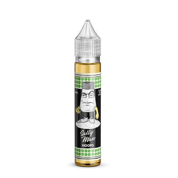 Salty Man - Salty Man Hoops eLiquid - Drops of Vapor
