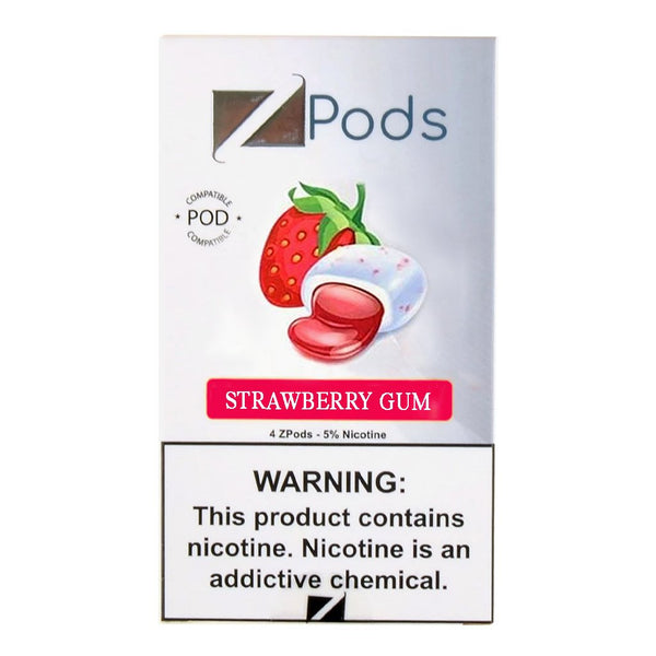 Ziip Strawberry Gum 4 ZPods