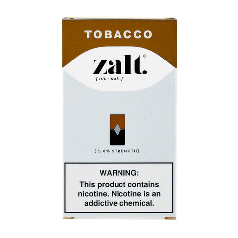 Zalt - Zalt Tobacco 4 Pods - Drops of Vapor