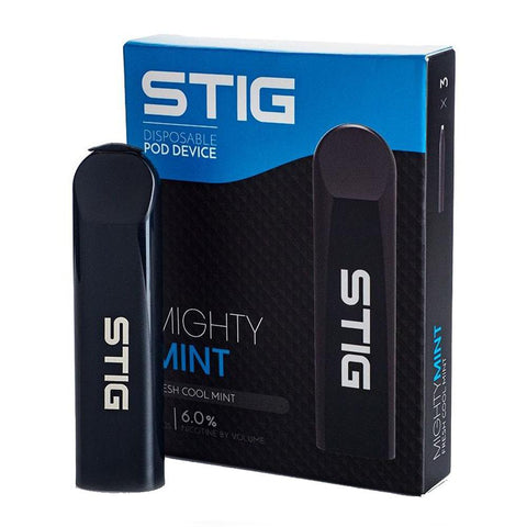 STIG - Stig VGOD Mighty Mint Vape Device 60mg Pack of 3 - Drops of Vapor