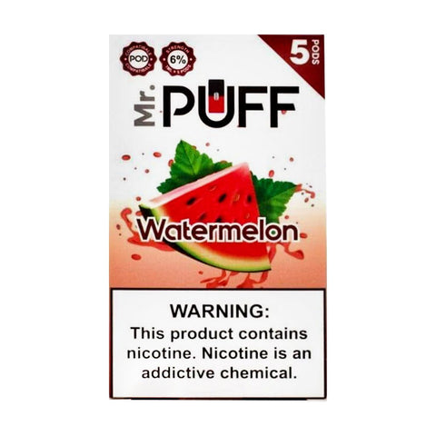 Mr Puff Watermelon 5 Pods