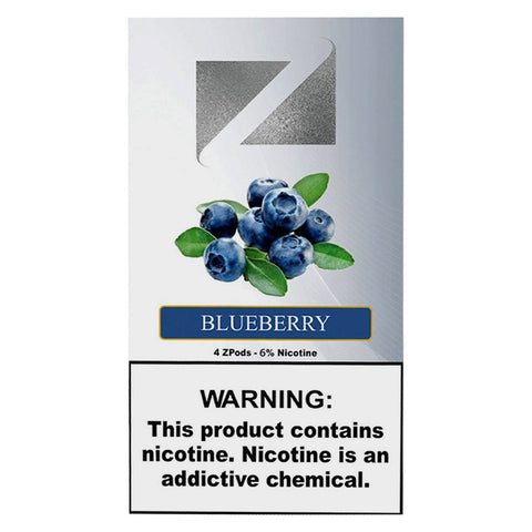 Ziip Blueberry 4 ZPods