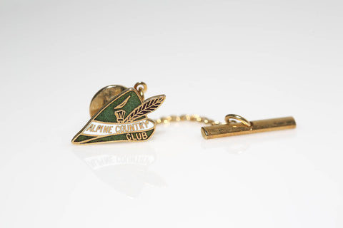 Alpine Country Club Tie Tack and Lapel Pin