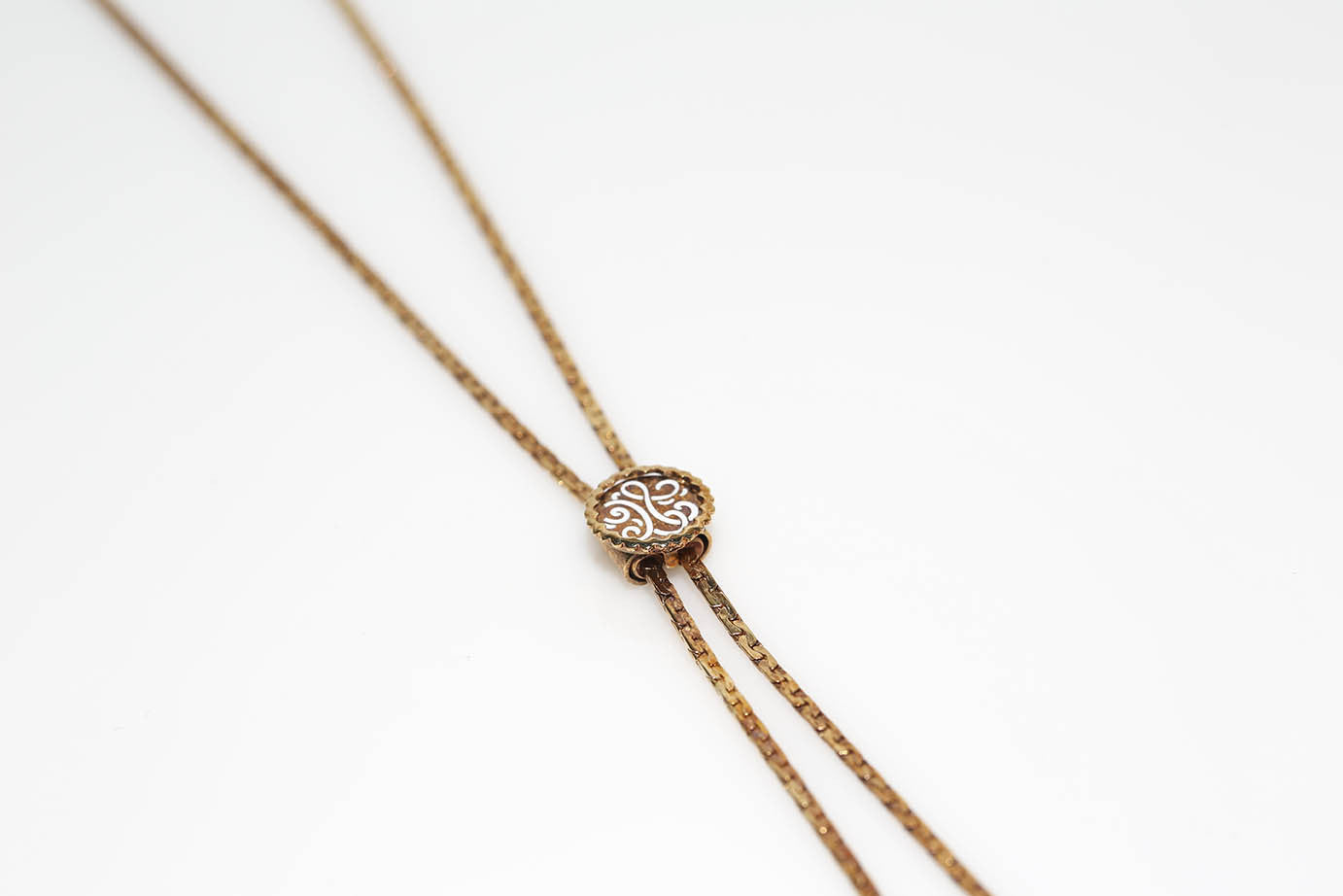 Golden Bolo Necklace