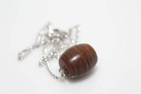Horizontal Barrel Necklace