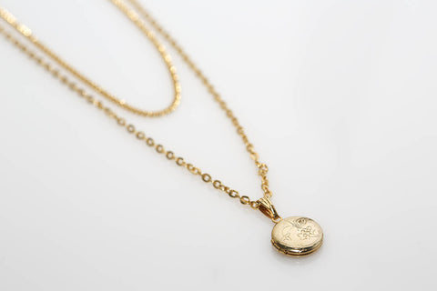 Double Chain Locket