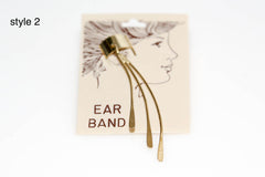 Gold 80s Ear Bands