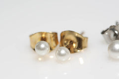 Mixed Pearl Studs