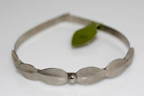 Etched Leaves Headband