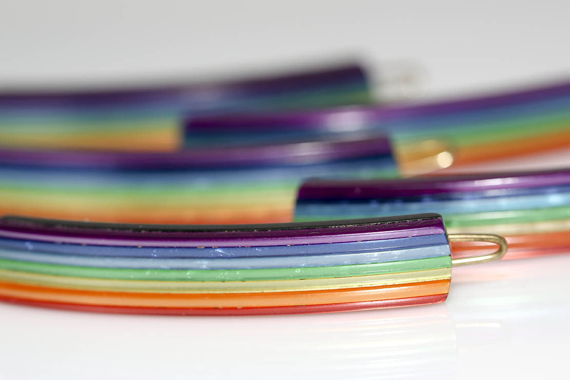 Over The Rainbow Barrettes