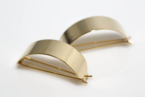 Gold Vintage Ponytail Holders