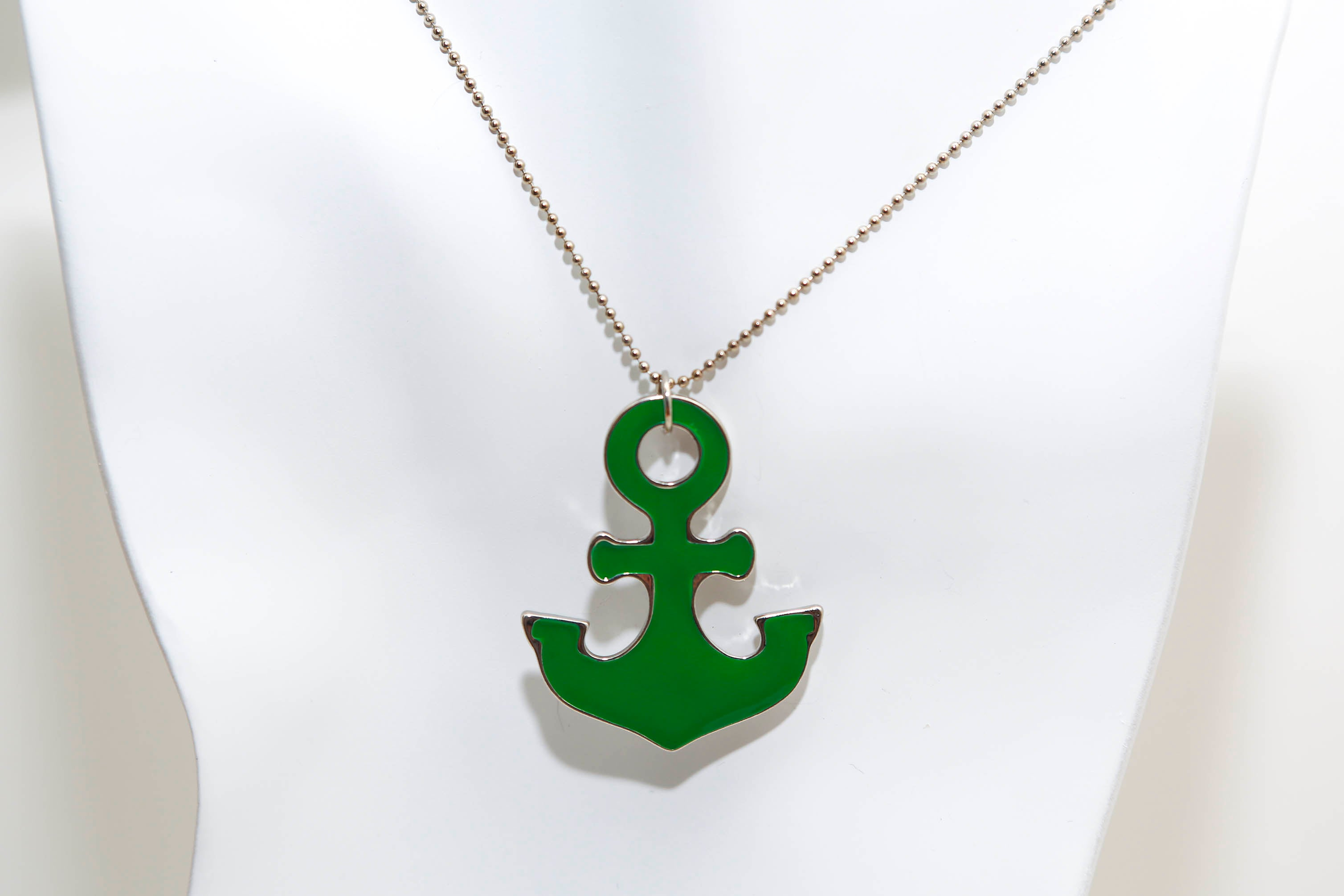 brass whitevalentine pendant necklace en necklaces with unisex anchor product